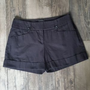 The Limited Drew Fit Sewn Cuff Chino Shorts Black